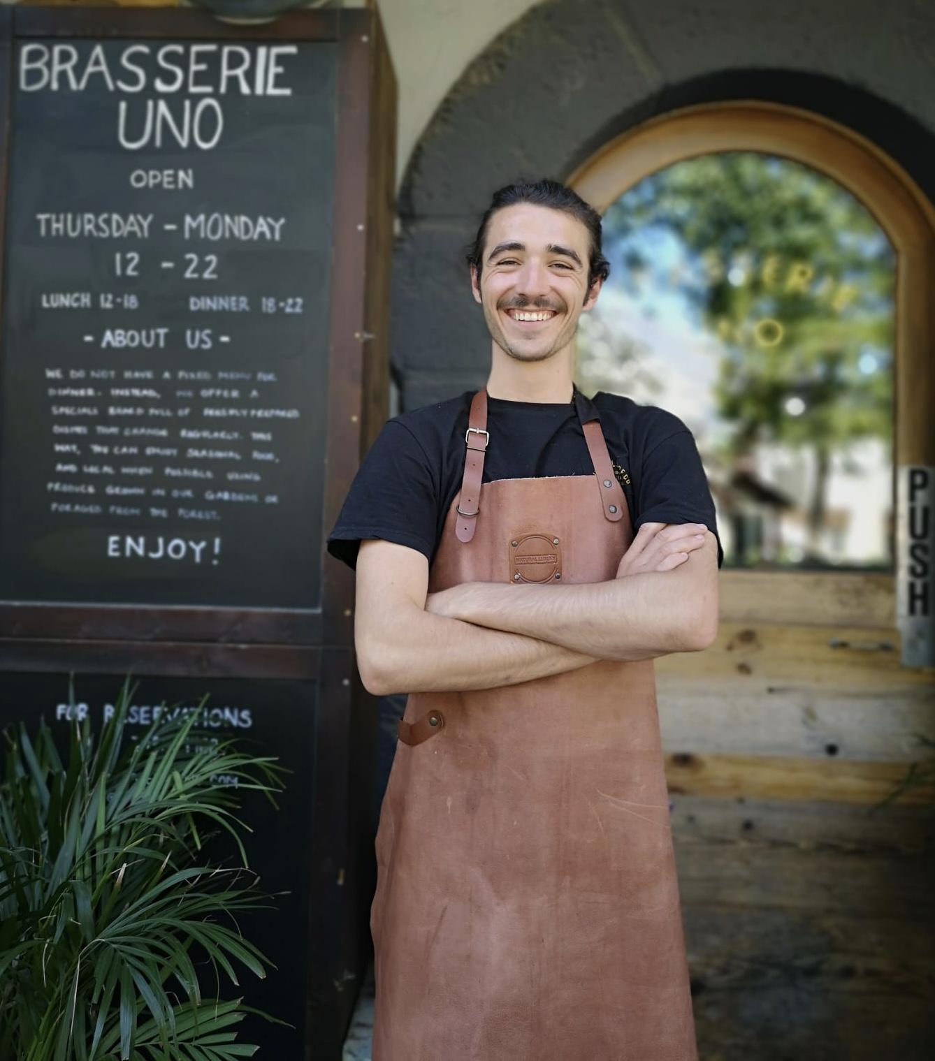 Brasserie Uno chef Mark Ruiz Kissling | Brasserie Uno Zermatt